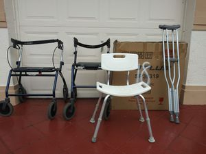 Walkers and Bath Chair for Sale in Miramar, FL