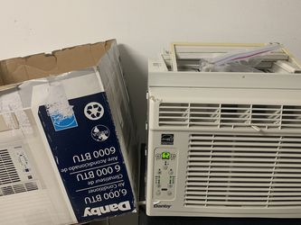 Danby 6,000 BTU Window AC Air conditioning with remote for Sale in Irvine,  CA