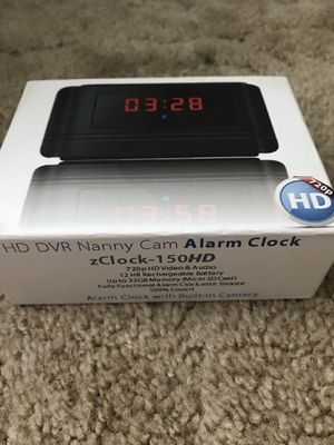 HD Nanny camera clock for Sale in Harrisonburg, VA