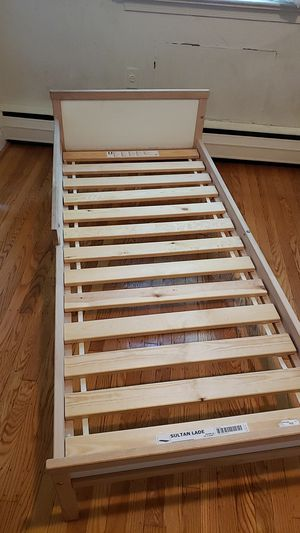 2 IKEA Kids bed frame. 1 right safety rail and 1 left safety rail for Sale in Broomall, PA
