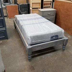 TWIN FRAME WITH ICOMFORT MATTRESS for Sale in Norwalk, CA