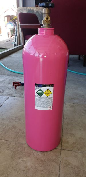 20 pound aluminum noz tank for Sale in City of Industry, CA