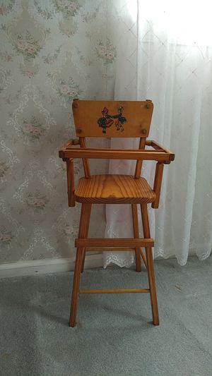 Vintage Doll high chair for Sale in Trappe, PA