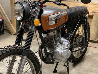 1972 Honda CB125 With A 200cc Motor for Sale in Kennesaw,  GA