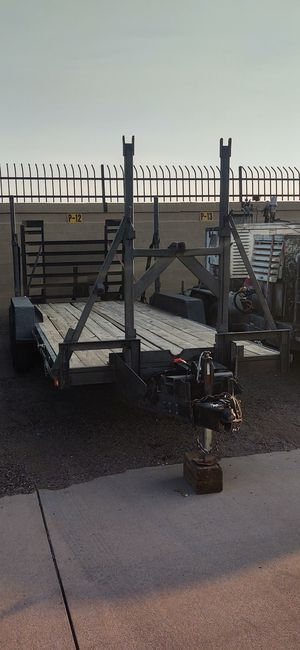 Heavy duty trailer 20x7 for Sale in Glendale, AZ