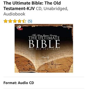 Bible audio set for Sale in Corona, CA