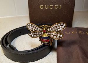 Gucci Queens Margaret Leather Belt Authentic for Sale in Queens, NY