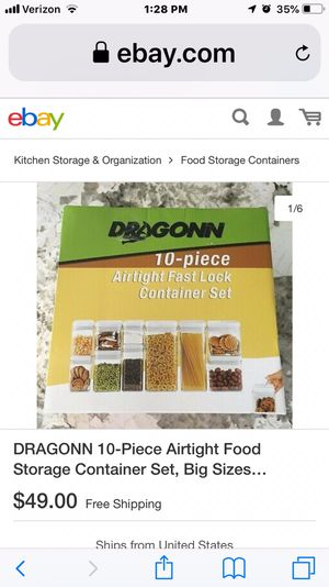Dragonn storage container sets for Sale in Sandy, UT