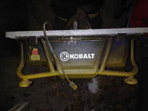Kobalt Wet Saw for Sale in England, AR