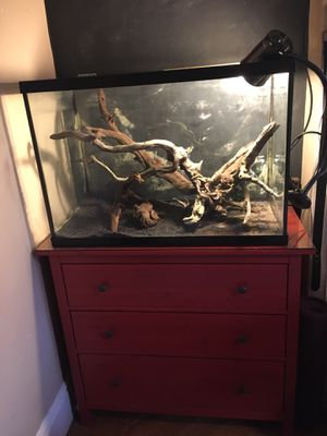 """Aquarium and all accessories 65 gallon 36""""x18""""x24"""" for Sale in Brooklyn, NY"""