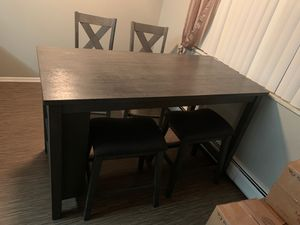 AWF dining table with two chairs and two stools for Sale in Broomfield, CO