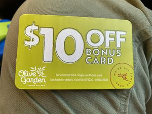 Olive Garden bonus card New for Sale in Scottsdale, AZ