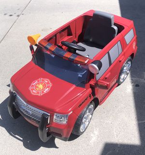GMC Fire Rescue 6-Volt Battery Ride-On Vehicle for Sale in Boise, ID