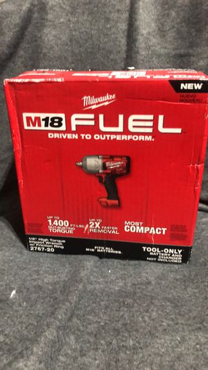 New Milwaukee impact wrench 1:2 high torque tool tool for Sale in Orlando, FL