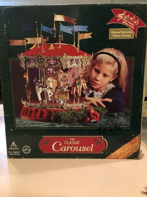 The Classic Carousel by Holiday Creation for Sale in Franklin Lakes, NJ