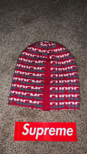 Supreme Logo Beanie for Sale in Emmaus, PA