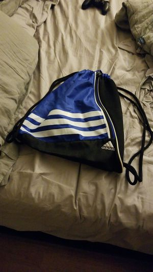 Adidas Blue Travel String Backpack for Sale in Clearwater, FL