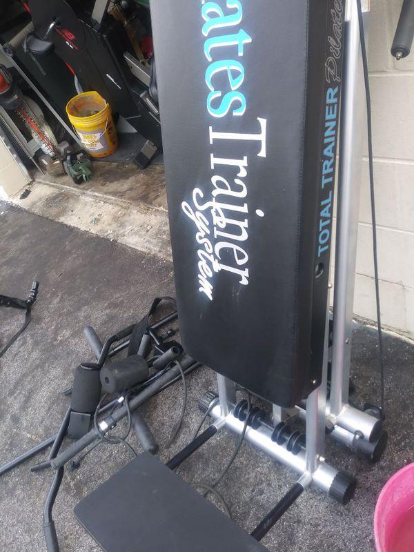 Pilates trainer system