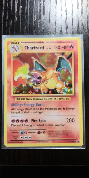 Pokemon holos make an offer all mint, Charizard XY Evolutions. Charizard Ex, Pidgeot Ex, Kingdra GX full body, Volcanion EX full body art. for Sale in Everett, WA