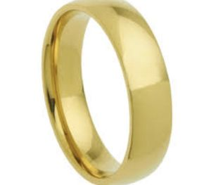Stainless steel 6mm wedding band ring for Sale in St. Louis, MO