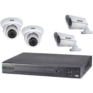 4 megapixel high-definition Daiwa surveillance system with remote access for Sale in Fort Lauderdale, FL