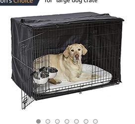 MidWest iCrate Starter Kit | The Perfect Kit for Your New Dog Includes a Dog Crate, Dog Crate Cover, 2 Dog Bowls & Pet Bed for Sale in Fresno,  CA