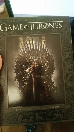 Game of Thrones complete first season for Sale in Milford, DE