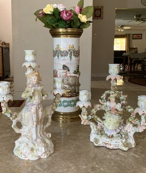 Pair of German candelabras for Sale in Fort Lauderdale, FL