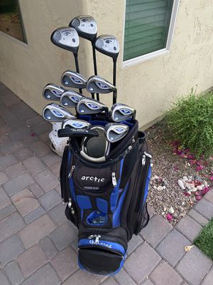 Callaway Golf Clubs Full Set Arctic Chillzone Bag for Sale in Queen Creek, AZ