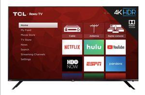 "65"" TCL 6 SERIES 4K ROKU TV for Sale in Covina, CA"