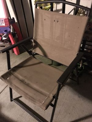 Folding patio chair for Sale in Chino Hills, CA