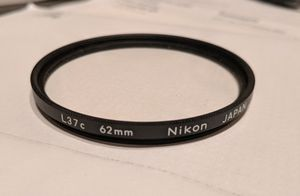 Nikon L37c UV filter for 62mm lenses for Sale in Houston, TX