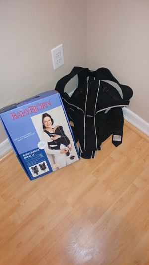 Baby Bjorn Miracle Baby Carrier for Sale in San Diego, CA