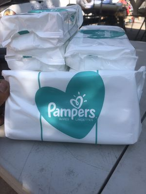 Pampers Wipes Lingettes for Sale in Bakersfield, CA