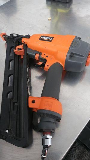 Ridgid nail gun for Sale in Portland, OR