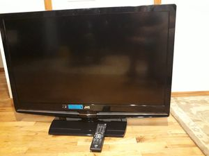 VERY NICE BIG TV JVC brand WITH REMOTE CONTROL FOR SALE for Sale in Bellevue, WA