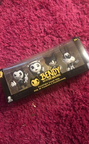 Bendy and the ink machine collectible figure toys for Sale in Vancouver, WA