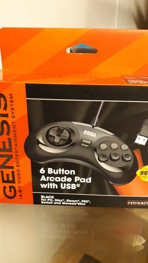 Genesis 6 button pad with USB for Sale in Raeford, NC