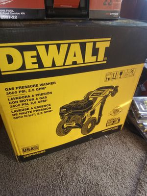 New Dewalt 3600 psi. 2.5gpm. Gas powered pressure washer for Sale in Dinuba, CA