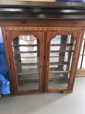 Antique glass furniture piece for Sale in Denham Springs, LA