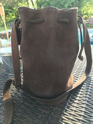 Authentic suede Coach Hobo for Sale in Monroe, MI