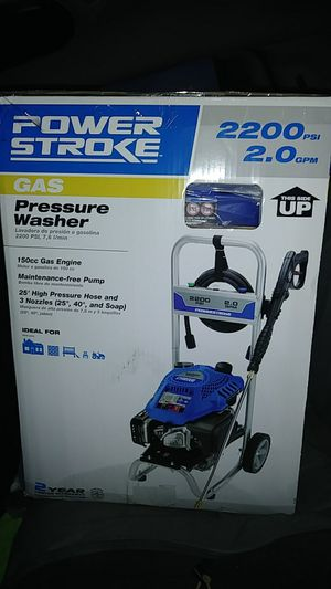BRAND NEW!! NEVER USED!! POWERSTROKE 2200psi Gas Powered Pressure Washer for Sale in Oklahoma City, OK