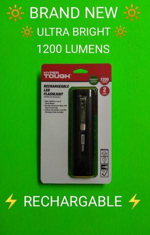 BRAND NEW 1200 Lumens RECHARGABLE FLASHLIGHT / SAVE $38 / for Sale in Phoenix, AZ
