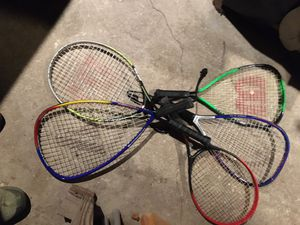 Tennis/Racket ball rackets for Sale in Tabernacle, NJ