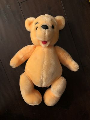 Vintage Disney World, Winnie The Pooh Poseable Plush Doll—Pre-owned for Sale in Corona, CA