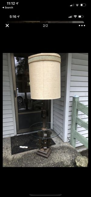 Antique glass/ light table MCM for Sale in Snohomish, WA