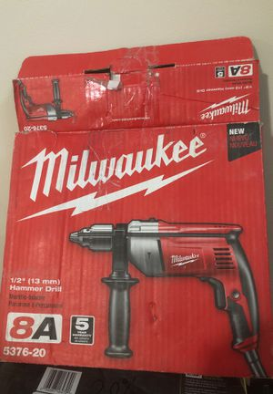 Mileaukee 1/2 inch hammer drill electric for Sale in Dearborn, MI