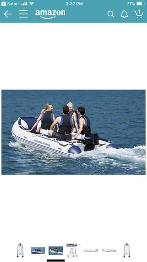 Sunsaille 12.5 ft inflatable boat for Sale in Phoenix, AZ
