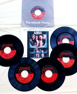70's pop music Lot (7) ABBA 45rpm Vintage Vinyl Records for Sale for sale  Tacoma, WA