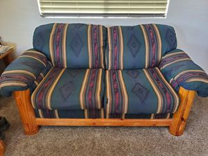 Kitchen table, chairs, pull out couch for Sale in Overgaard, AZ